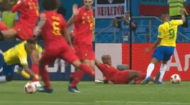 Brasile-Belgio, che tuffo Neymar! Ma su Gabriel Jesus...