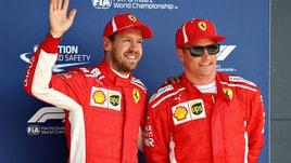 F1 Gran Bretagna, Vettel: «Sono contento del secondo posto»
