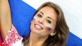 Russia-Croazia, le tifose vincono in tribuna