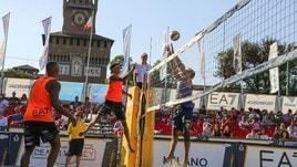 Beach volley Tricolore - A Milano si è giocato dall'alba al tramonto: domani il gran finale