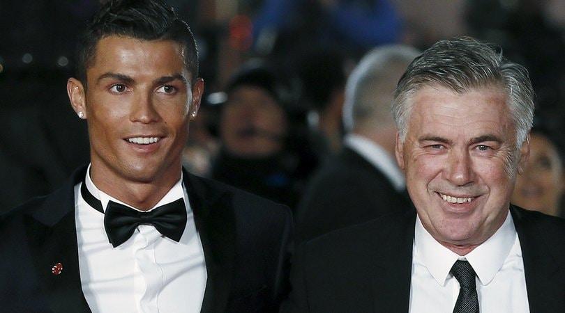 Cristiano Ronaldo e il consiglio di Ancelotti:«Allegri è l'ideale per te»