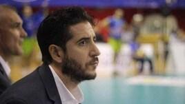 Volley A2 maschile - Sandro Passaro sulla panchina di Gioia del Colle