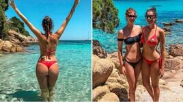 L'estate di Valentina Vignali è bollente