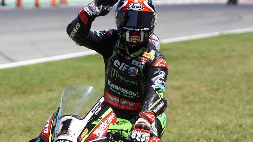 Superbike Misano, Gara 2: Rea senza rivali, 3° Melandri