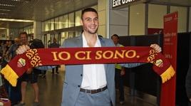 Calciomercato Roma, Fuzato è atterrato a Fiumicino