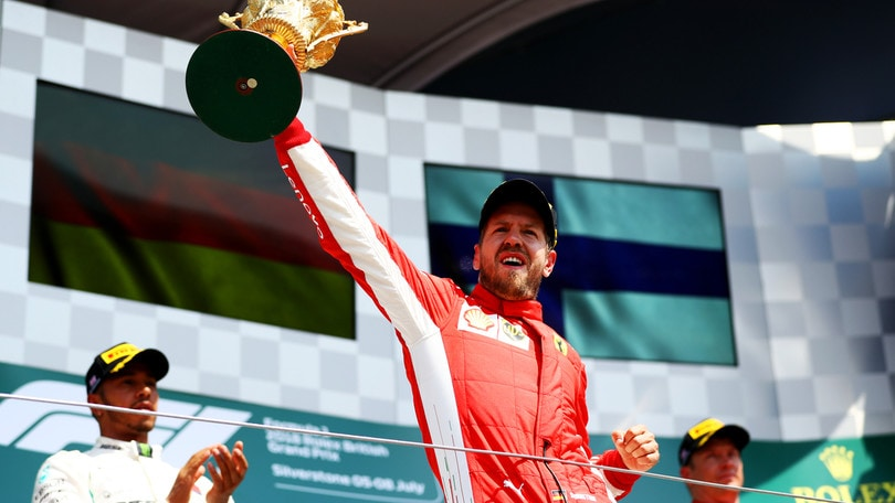 F1 Gran Bretagna, Vettel: «Li abbiamo battuti a casa loro»
