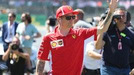F1 Gran Bretagna, Raikkonen: «La penalità? L'errore è stato mio»