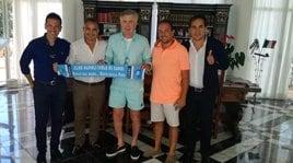 Ancelotti, ultime ore di relax a Capri con De Laurentiis