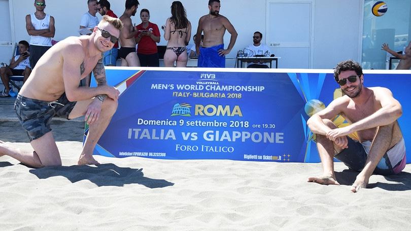 Beach Volley: ICS Beach Volley Tour Lazio con Zaytsev e Maruotti