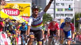 Tour - Sagan al fotofinish su Colbrelli. È gialla!