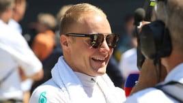 F1 Gran Bretagna, Bottas: «Avrei dovuto fermarmi per cambiare le gomme»