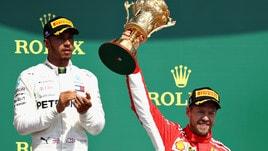 F1, Vettel vince a Silverstone ma Hamilton rimane il favorito