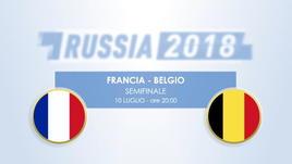 Francia-Belgio, il testa a testa