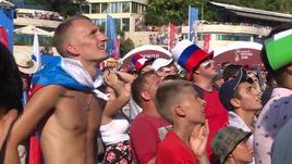 Il best of dei tifosi russi