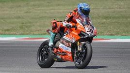 Superbike, Melandri: «Ho dato spettacolo»
