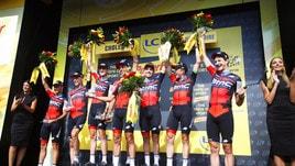 Tour de France, la Bmc vince la cronosquadre. Van Avermaet in giallo