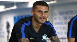Icardi allontana il mercato: «L'Inter è una famiglia»