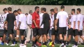 Milan, allenamento a Milanello