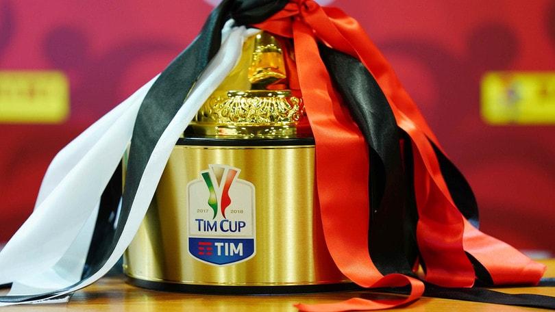 Coppa Italia, il programma del secondo turno eliminatorio