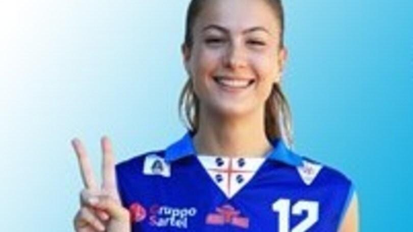 Volley: A2 Femminile, Agnese Cecconello ha scelto Baronissi