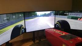 Napoli, in ritiro c'è un simulatore di Formula Uno