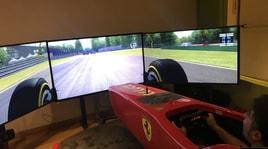 Il Napoli a Dimaro: area relax, super bolidi e un simulatore di F1