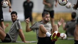 Juventus, ora si fa sul serio: allenamento intenso, aspettando CR7