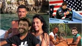 Juventus, Agnelli vola da Ronaldo in Grecia e i social si scatenano