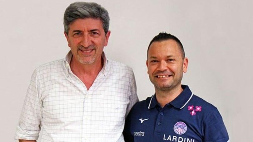 Volley: A2 Femminile, Luca Chiappini è il nuovo coach di Filottrano
