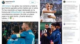 Cristiano Ronaldo alla Juventus: le reazioni dei colleghi