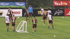 Napoli: primo allenamento per Carlo Ancelotti