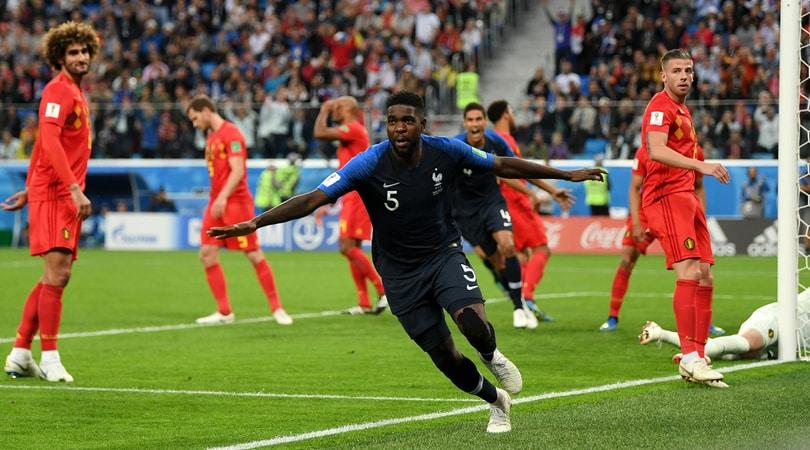 Mondiali 2018, Francia-Belgio 1-0: Umtiti gol, è finale!