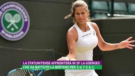 Wimbledon, 8° giorno - Serena in semifinale, sfuma il sogno della Giorgi