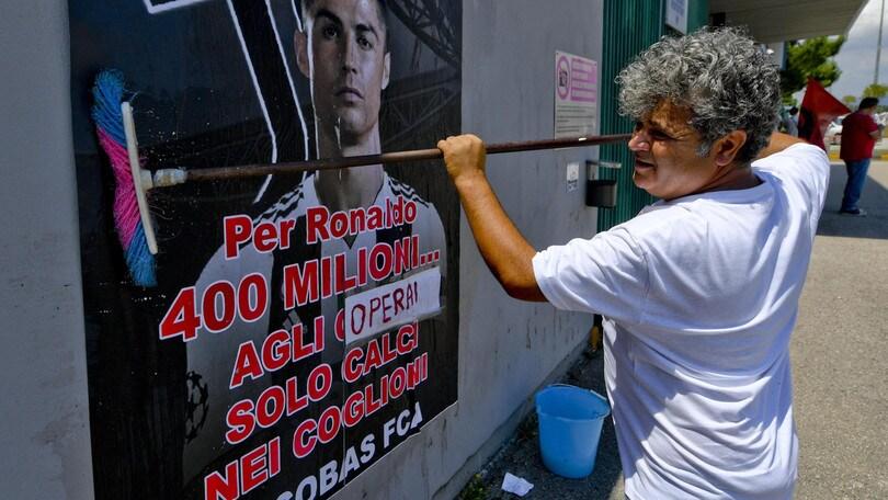 Fiat, a Melfi sciopero di 32 ore per l'acquisto di Ronaldo