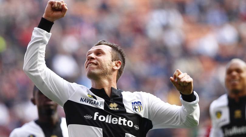 Cassano, l'autoregalo di compleanno: si propone al Parma