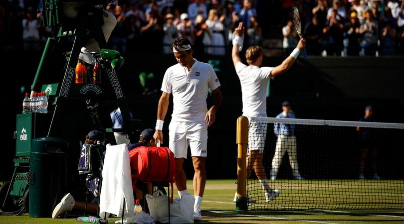 Clamoroso Federer: eliminato a Wimbledon