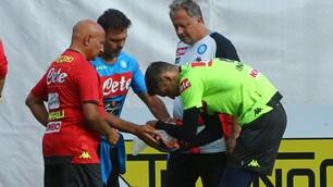 Napoli, frattura all'ulna in allenamento per Meret