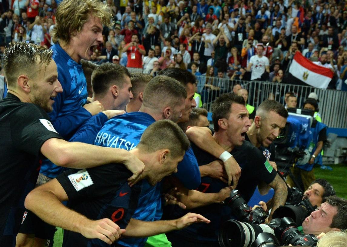 Il gol di Mandzukic che regala la finale alla Croazia