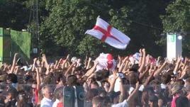 Croazia-Inghilterra, gioie e dolori ad Hyde Park