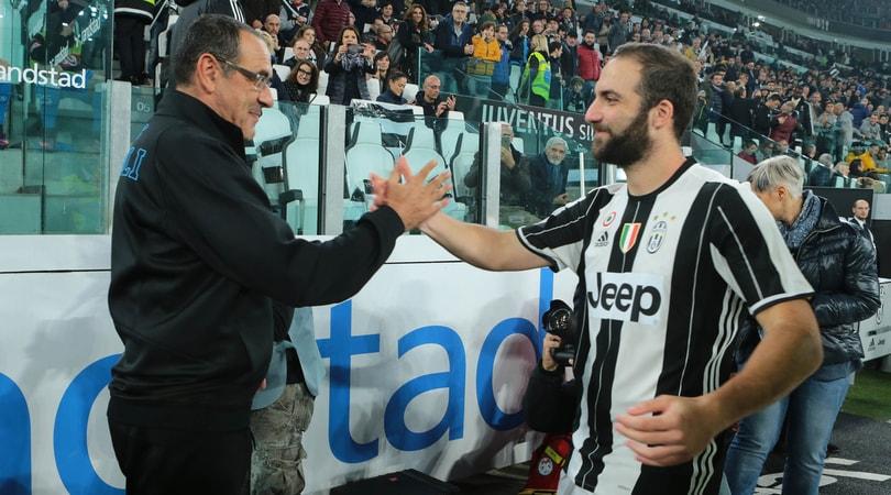 Juventus, ora Sarri spinge per Higuain al Chelsea