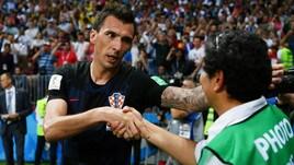 Croazia, Mandzukic chiede scusa al fotografo