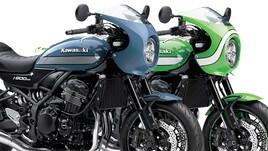 Kawasaki Z900 RS Cafè: arrivano due nuovi colori
