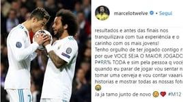CR7 alla Juventus, Marcelo: «Ho imparato molto da te». E Modric non si dà pace: «Un peccato»