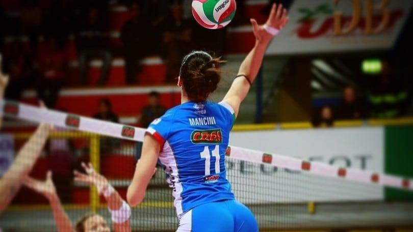 Volley: A1 Femminile, Giulia Mancini, un talento per Cuneo