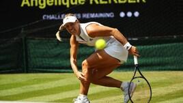 Wimbledon, Angelique Kerber è la prima finalista
