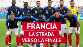 Francia - La strada verso la finale