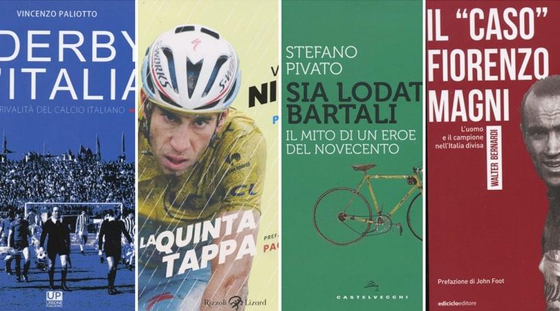 Tutti i derby d'Italia e tre libri sul grande ciclismo