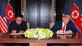 Trump posta su Twitter lettera Kim