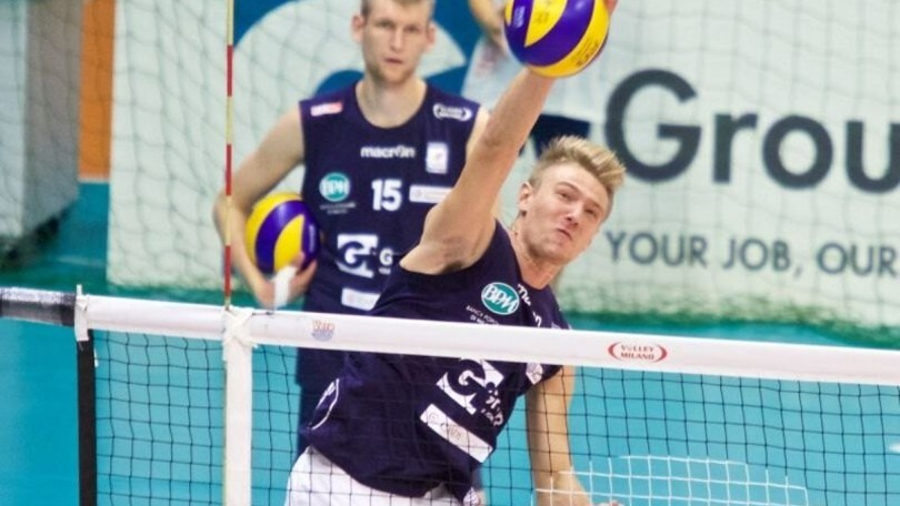 Volley: A2 Maschile, Mondovì punta su Jernej Terpin