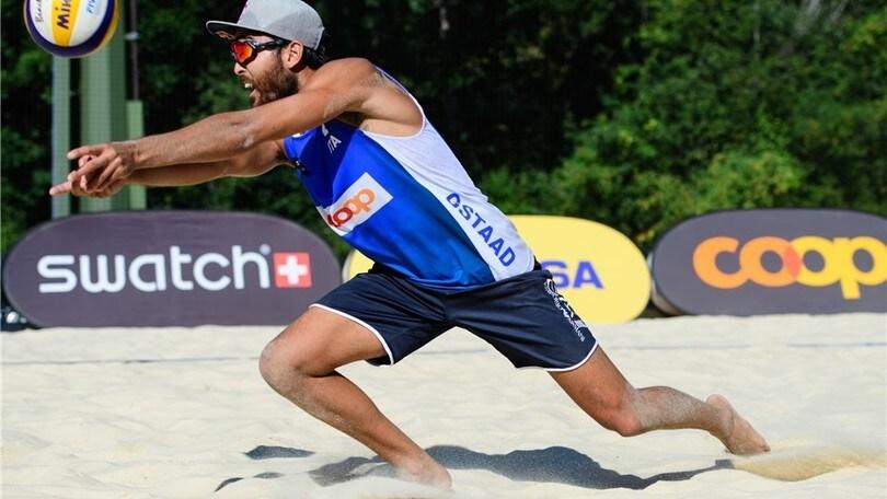 Beach Volley: Lupo-Nicolai e Andreatta-Abbiati agli ottavi di Gstaad